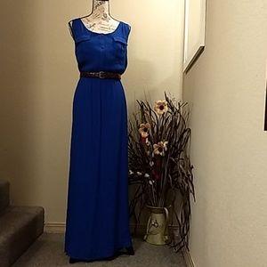 NWOT, Royal Blue Maxi